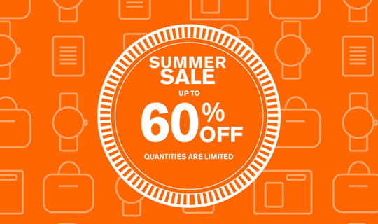 Summer Sale 2014: From 5th July Save Up To 60% Off!