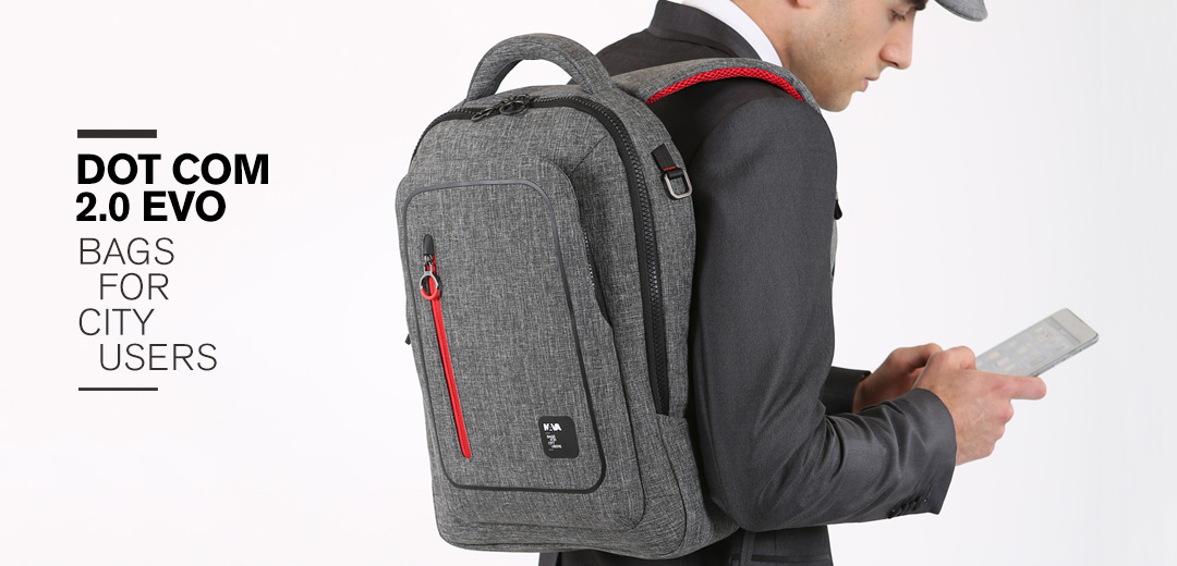 Dot_Com 2.0 EVO, the Latest New Backpack Inspired By Sneakers!