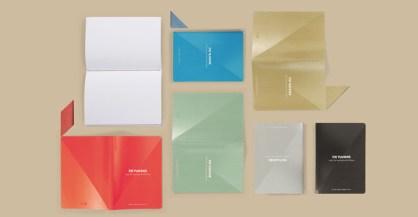 The Planner Notes, design notebooks to hold your unexpected ideas…