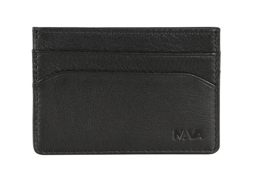 Smooth Leather credit card and business card holder