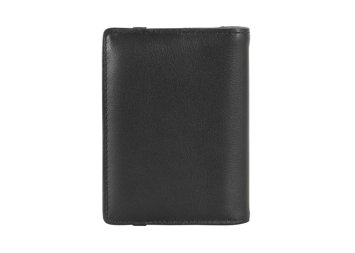 Pocket business card holder with elastic closure Smooth