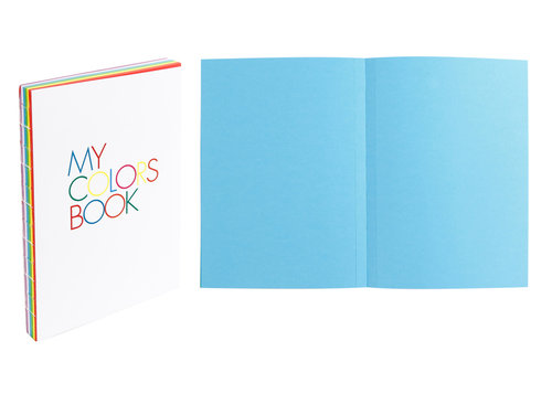 My Colors Book, A5 format design notebook 15x21 cm