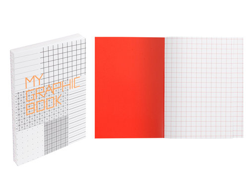 MyGraphic Book, cahier design format A5 15×21 cm