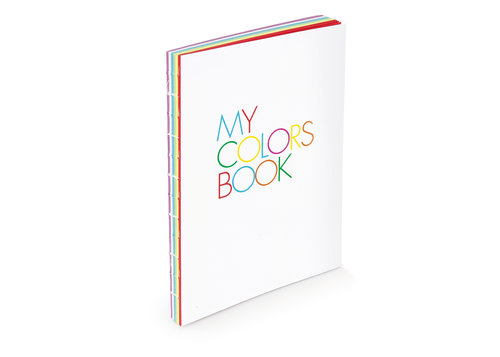My Colors Book, quaderno di design formato A5 15×21 cm
