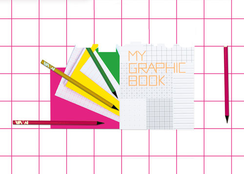 My Graphic Book, quaderno di design formato A5 15×21 cm