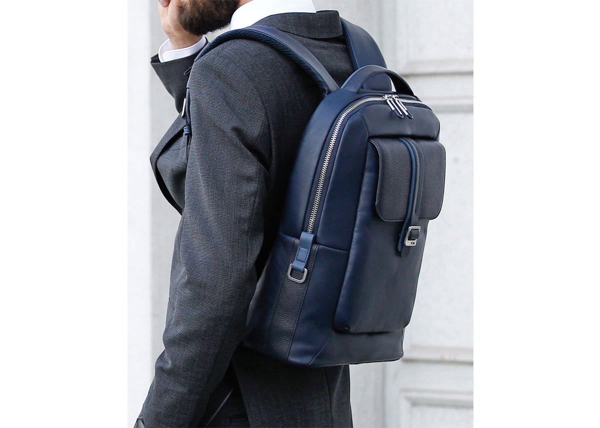 Men S Backpack For Work Courier Leather Nava