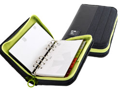 Passenger Organizer agenda with weekly refills included, 9.5x17 cm
