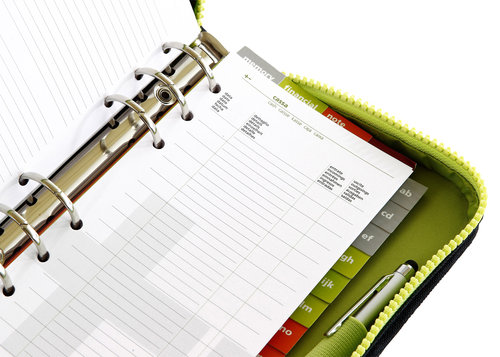 PassengerOrganizer agenda with weekly refills included, 9.5x17 cm