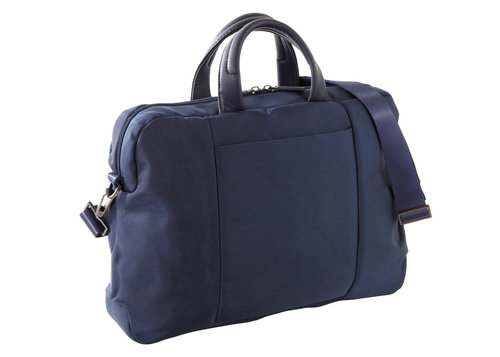 Easy + Double-Handle Briefcase With Laptop And Ipad Pockets