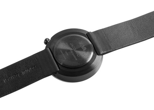 Designer timepiecesJacquard with leather strap