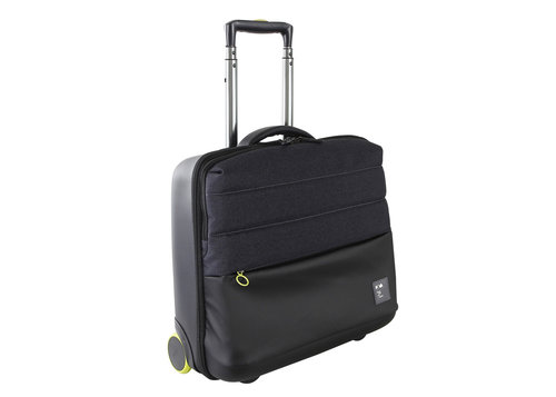 Passenger Wheeled travel bag with clothing & laptop compartments