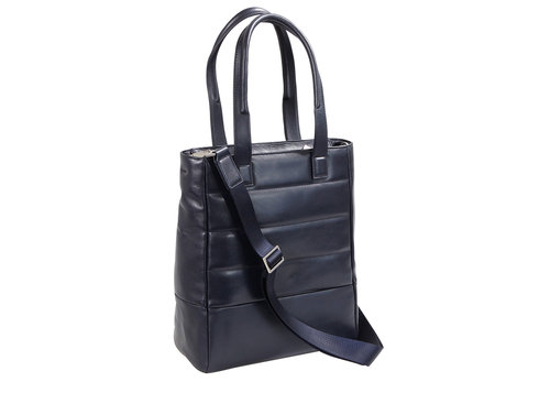 Passenger Leather Shopping bag with 2 handles and tablet pocket