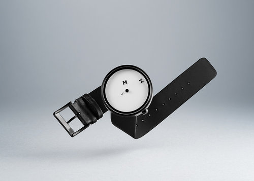 Designer watches HMS wristwatch with 39 mm case