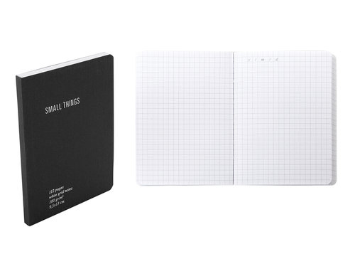 Everything Notes a quadretti con tasca porta documenti formato pocket