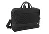 Easy + Laptop briefcase convertible to backpack with front pk.