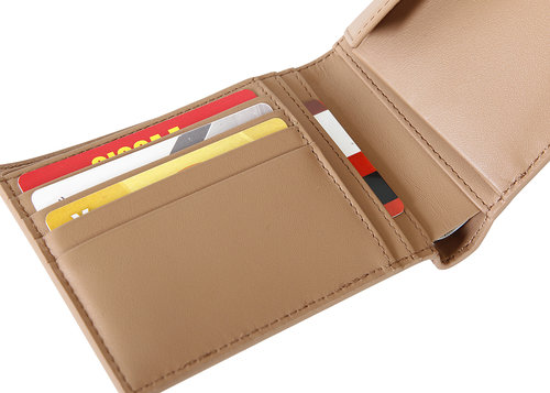 Via Durini Men's wallet RFID 4 cc with coin case