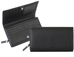Via Durini Women's wallet RFID 14 cc with coin case