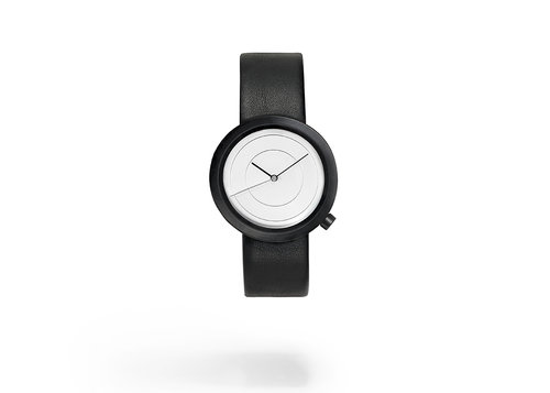 Designer watches Air wristwatch with leather strap