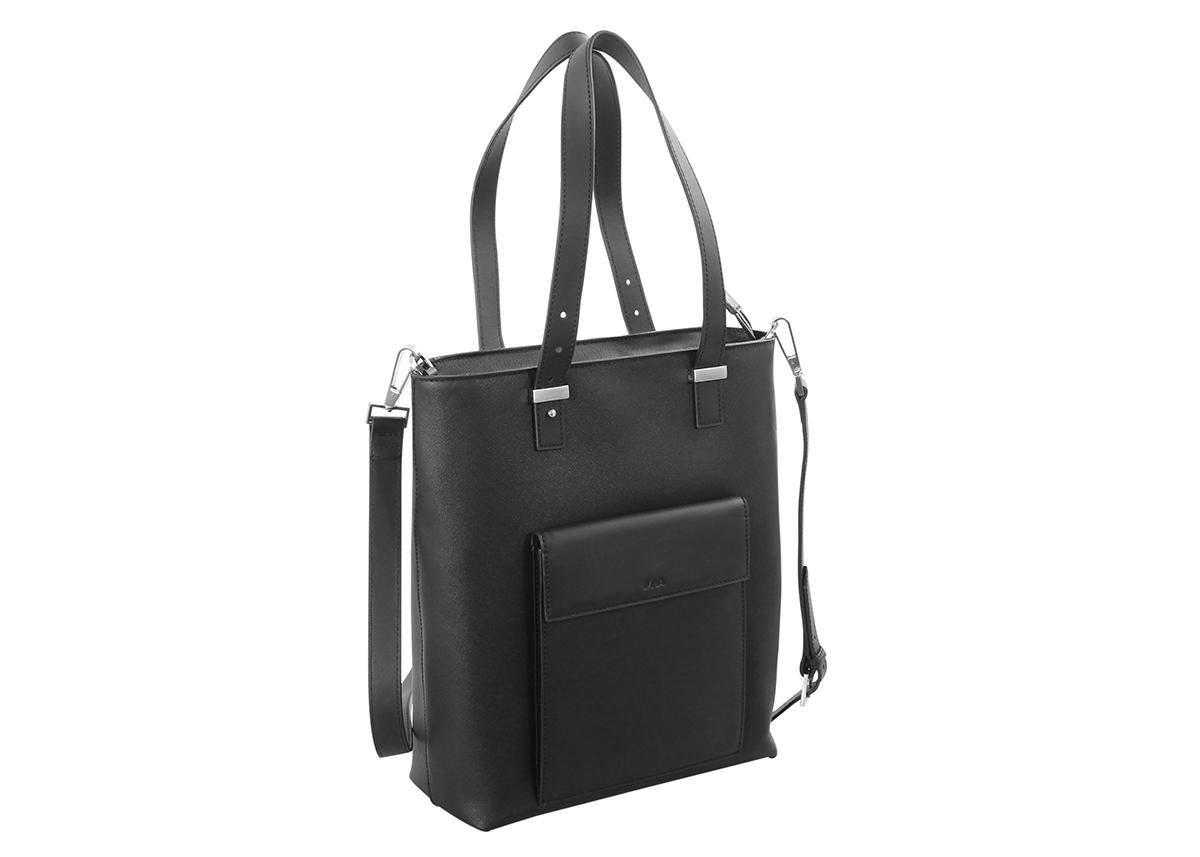 2af8636490 Tote bag with adjustable handles and removable strap - Via Durini - NAVA