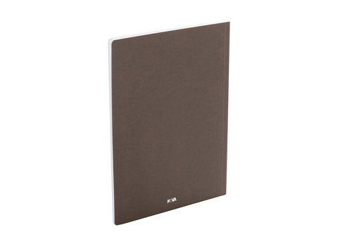 Everything Notebook plain with inside pocket A4 size