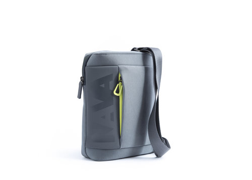 Cross Shoulder bag with tablet compartment and front pocket