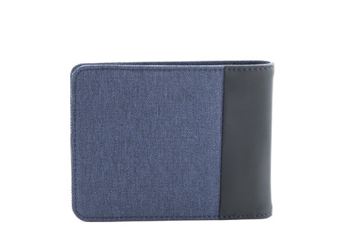 Twin Men's horizontal wallet with 12 cc slots and RFID