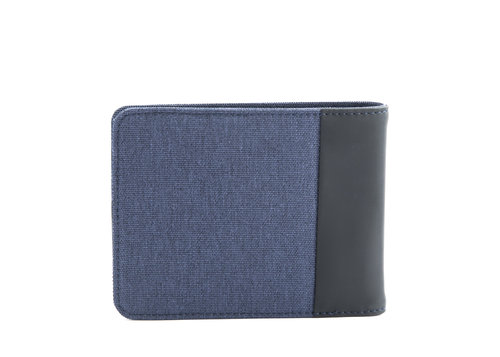 Twin Men's wallet slim with 4 cc slots, coin pocket and RFID