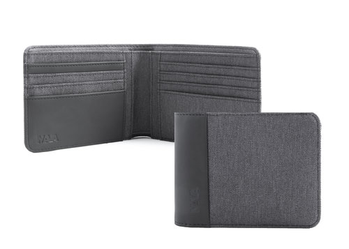 Twin Men's wallet slim with 8 cc slots and RFID
