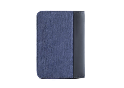 Twin Men's vertical wallet with 7 cc slots and RFID