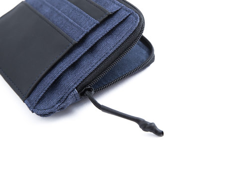 Twin Document and credit card holder with 8 cc slots and RFID
