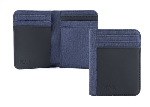 Twin Credit card holder with 12 cc slots and RFID