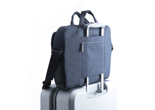 Aero Briefcase 2 compartments with removable strap