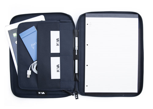 Aero A4 zip portfolio with tablet pocket