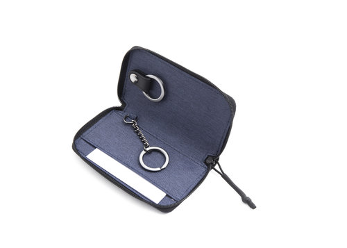 Twin Key holder closed with zipper