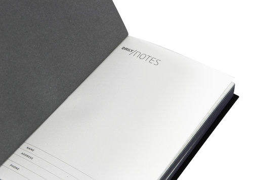 Daily Notes Pocket-Sized Ruled Design Notebook, 9,5 X 13 Cm