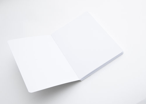 Optical Notes Cahier design format A5 avec pages blanches