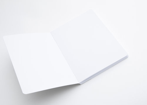 Optical Notes Cahier design format de poche avec pages blanches
