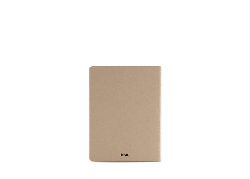 ECO 1 notebook Notes in carta riciclata con pagine bianche formato medium