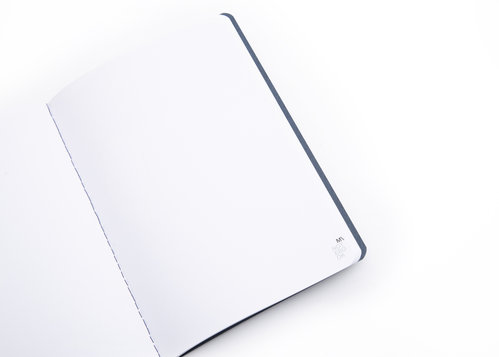 ECO 1 notebook Medium notebook made of recycled paper with blank pages