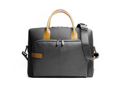 Solid Organized briefcase 1 compartment with large front pocket