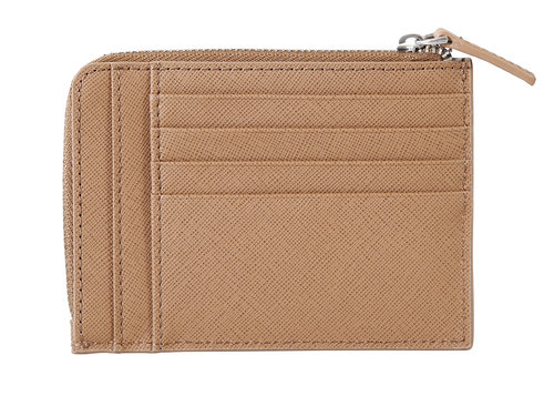 Via Durini Document and credit card holder RFID 8 cc with zip closure