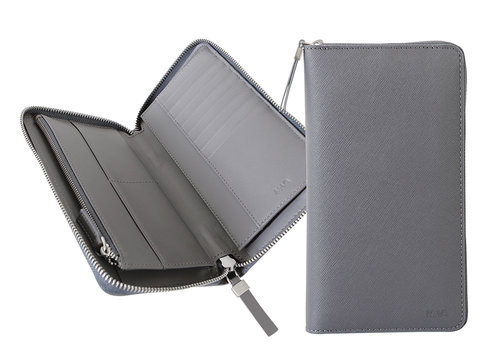 Via Durini Travel wallet RFID 8 cc with coin case