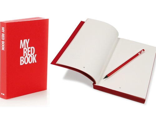 "My ""MY BOOK"" designer A5 notebook"