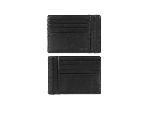 Smooth Portefeuille porte-documents homme, 8 cartes de crédit