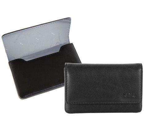 Smooth Business card holder with magnet