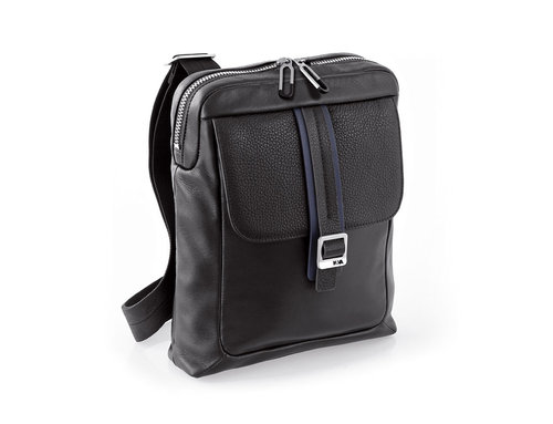 Courier Leather Borsa tracolla porta iPad mini