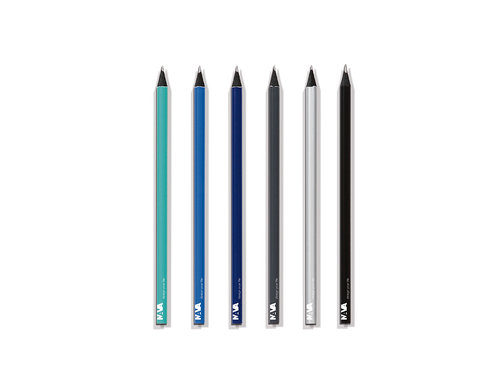 Writing Instruments Cut End Pencil With Nava Logo