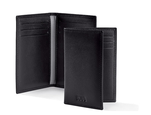 Smooth Vertical credit card holder, 6 credit cards