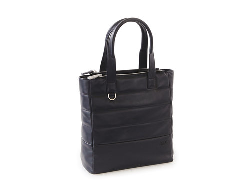 Passenger Leather Borsa shopping organizzata con 2 manici e tasca porta tablet