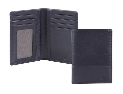 Passenger Leather Men's vertical wallet 7 cc